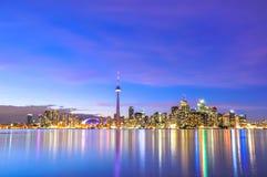 Toronto Skyline. On sunny day, Canada Royalty Free Stock Photo