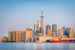Toronto Skyline at sunrise Royalty Free Stock Photo