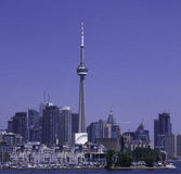 Toronto, skyline. Toronto, skyline under a clear sky Stock Image