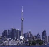 Toronto, skyline. Toronto, skyline under a clear sky stock image