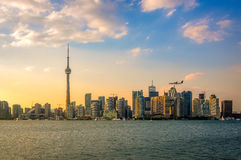 Toronto skyline view Stock Image