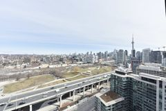 Toronto skyline view. Downtown life royalty free stock photos