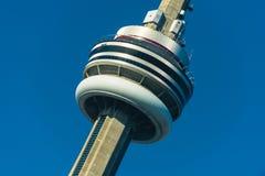 Toronto-Skyline vom Ontario See lizenzfreies stockfoto