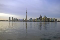 Toronto skyline wody. Zdjęcie Stock