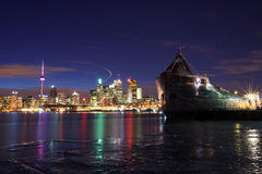Toronto Skylines Stock Images