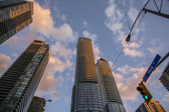 Toronto skyscrapers Royalty Free Stock Image
