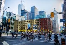 Toronto - SOBRE - CANADÁ Fotografia de Stock