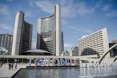 Toronto - SOBRE - CANADÁ Imagem de Stock Royalty Free