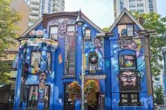 Toronto stång för #1-friktion på kyrkan/den Wellesley byn i i stadens centrum Toronto Fotografering för Bildbyråer