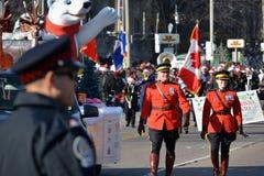 Toronto ståtar 108. Santa Claus Royaltyfria Foton