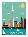 Toronto. Kanada. Arkivfoto