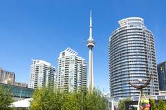 Toronto stads- sikt Arkivfoto
