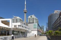 Toronto stads- sikt Fotografering för Bildbyråer