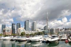 Toronto stadssikt Arkivfoto