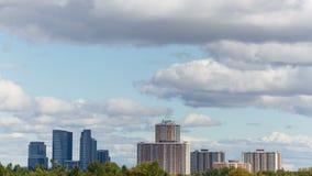 Toronto-Stadt-Skyline Timelapse stock footage