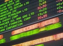 Toronto Stock Exchange Royalty Free Stock Photos