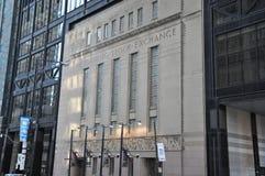 Toronto Stock Exchange Stock Image