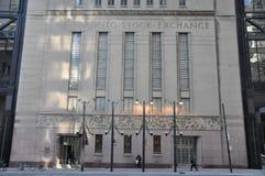 Toronto Stock Exchange facade Stock Images