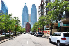 Toronto Street and building royalty free stock photography