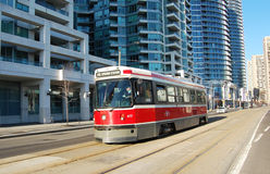Toronto street car Royalty Free Stock Photography