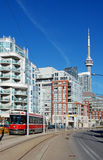 Toronto street railway (streetcar) Stock Photo