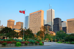 Toronto street view Stock Photo