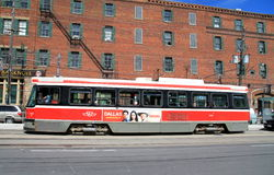 Toronto Streetcar Royalty Free Stock Photos