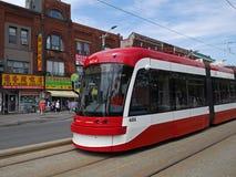 Toronto streetcar Royalty Free Stock Image