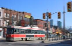 Toronto streetcar transportation Stock Images