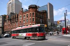 Toronto Streetcar, Yonge Street Stock Photos