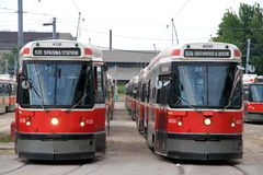 Toronto Streetcars Royalty Free Stock Images