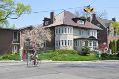 Toronto suburbs Royalty Free Stock Image