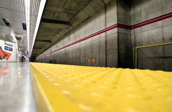 Toronto Subway Station. A Toronto Subway station platform Stock Image