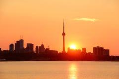 Toronto sunrise Stock Image
