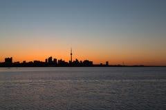 Toronto at Sunrise Royalty Free Stock Image