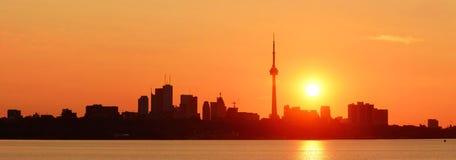 Toronto sunrise Stock Photography