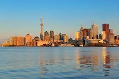 Toronto sunrise Royalty Free Stock Photography