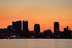 Toronto sunset Royalty Free Stock Photo