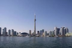 Toronto-Tagesküstenlinie Lizenzfreie Stockbilder