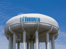 Toronto tekst i struktura Zdjęcie Royalty Free