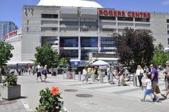 Toronto, 24th Czerwiec: Rogers Centre budynek od Toronto w Ontario prowinci Kanada Obraz Royalty Free