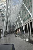 Toronto,24th June: Brookfield Place Atrium interior from Toronto in Ontario Province Canada. Brookfield Place Atrium interior from Toronto in Ontario Province of Stock Photos