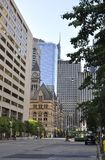 Toronto, 24th June: Old City Hall Street from Toronto in Ontario Province Canada. Old City Hall from Toronto in Ontario Province Canada on 24th June 2017 Stock Images