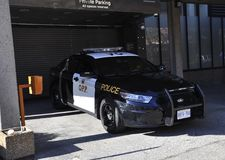 Toronto, 24th June: The Police Car from Toronto of Ontario Province in Canada. The Police Car from Toronto of Ontario Province in Canada on June 2017 Stock Image