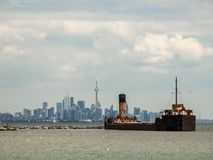 Toronto in tow Royalty Free Stock Image