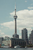 Toronto Tower. Big tourism palace canadaian symbol royalty free stock photo