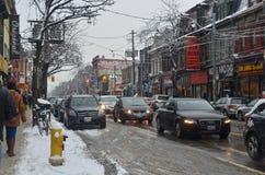 Toronto trafik fotografering för bildbyråer