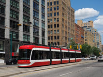 Toronto tram Stock Photos
