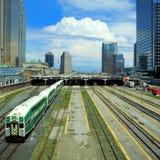 Toronto Union station. Stock Photos