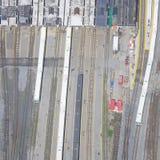 Toronto unionjärnvägsstation. arkivbilder